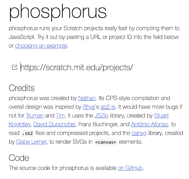 Phosphorus Interface
