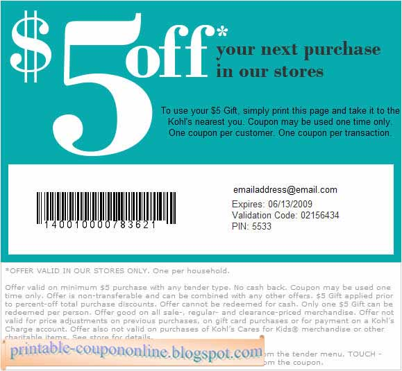 Kohls mvp coupon codes