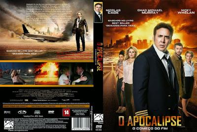 Filme O Apocalipse (Left Behind) 2014 DVD Capa