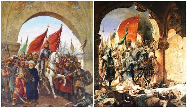 Membentang Sejauh 4 Km, Inilah Salat Jumat Terbesar Umat Islam Saat Kepung Konstantinopel