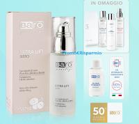 Barò Cosmetics ti regala 1 Gift Card da 50 euro + Kit detersione viso + gel igienizzante mani ! Scopri la super offerta con Siero Extra Lift
