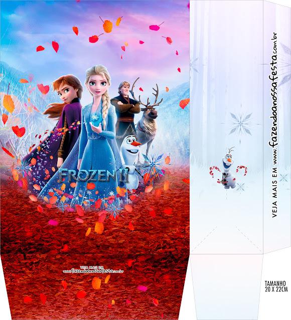 Frozen 2: Free Printable Boxes.
