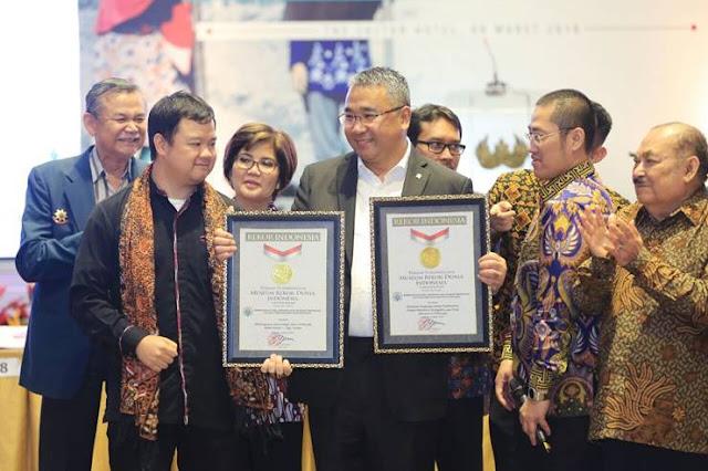 Kementerian Desa dan Pembagunan Daerah Tertinggal (Kemendes PDTT) mendapat dua rekor penghargaan dari Museum Rekor Indonesia (MURI).