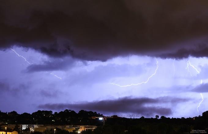 Bilan des orages sur la région montpelliéraine