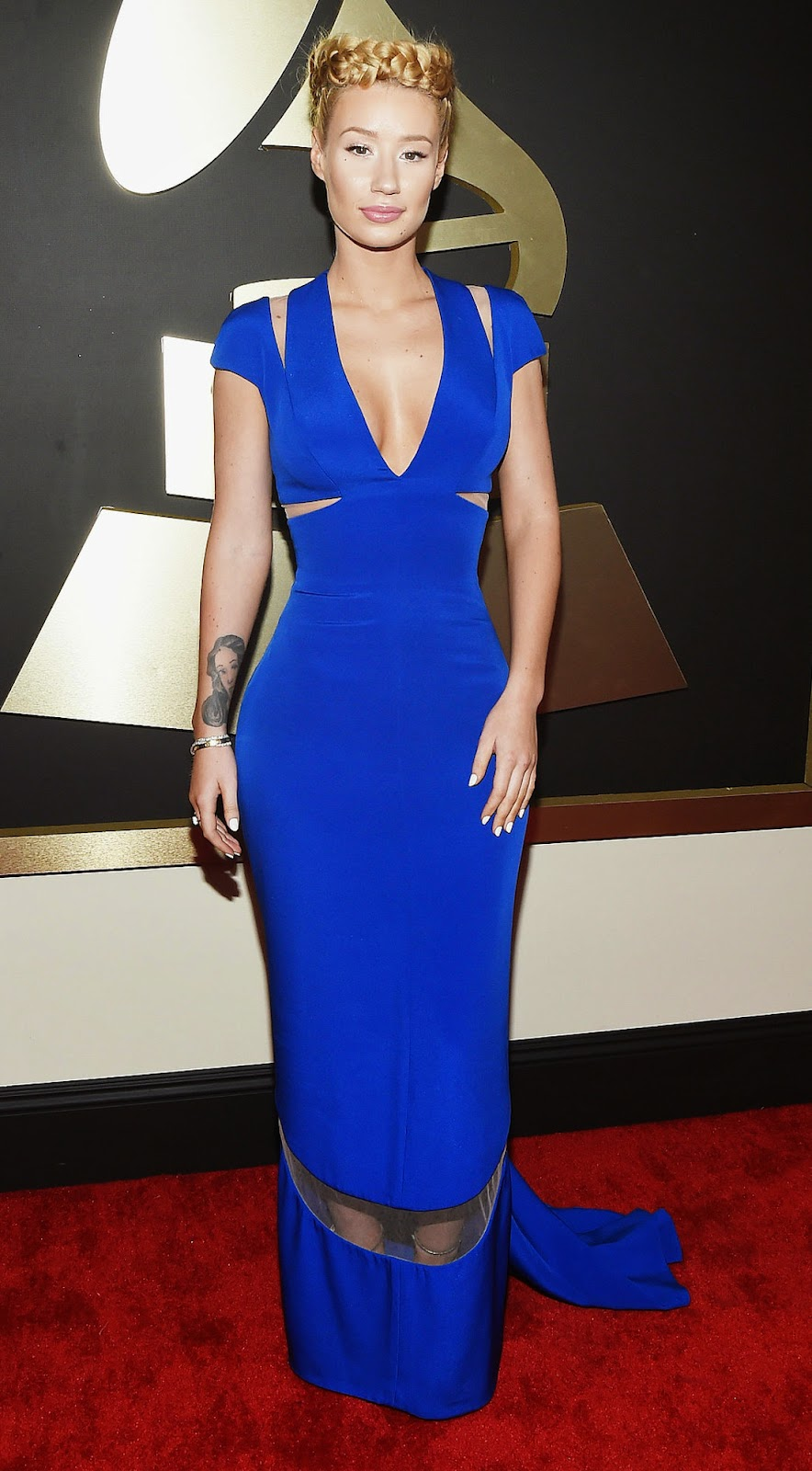 Iggy Azalea  2015 Grammy Red Carpet