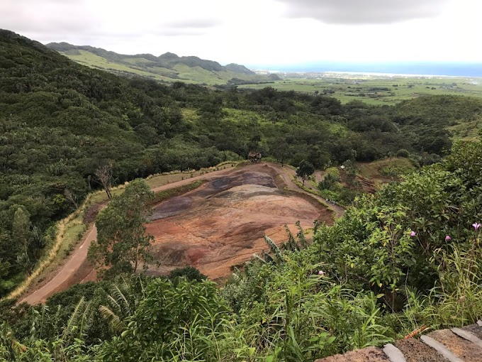 Chamarel Seven Colored Earth, Mauritius (with Map & Photos)