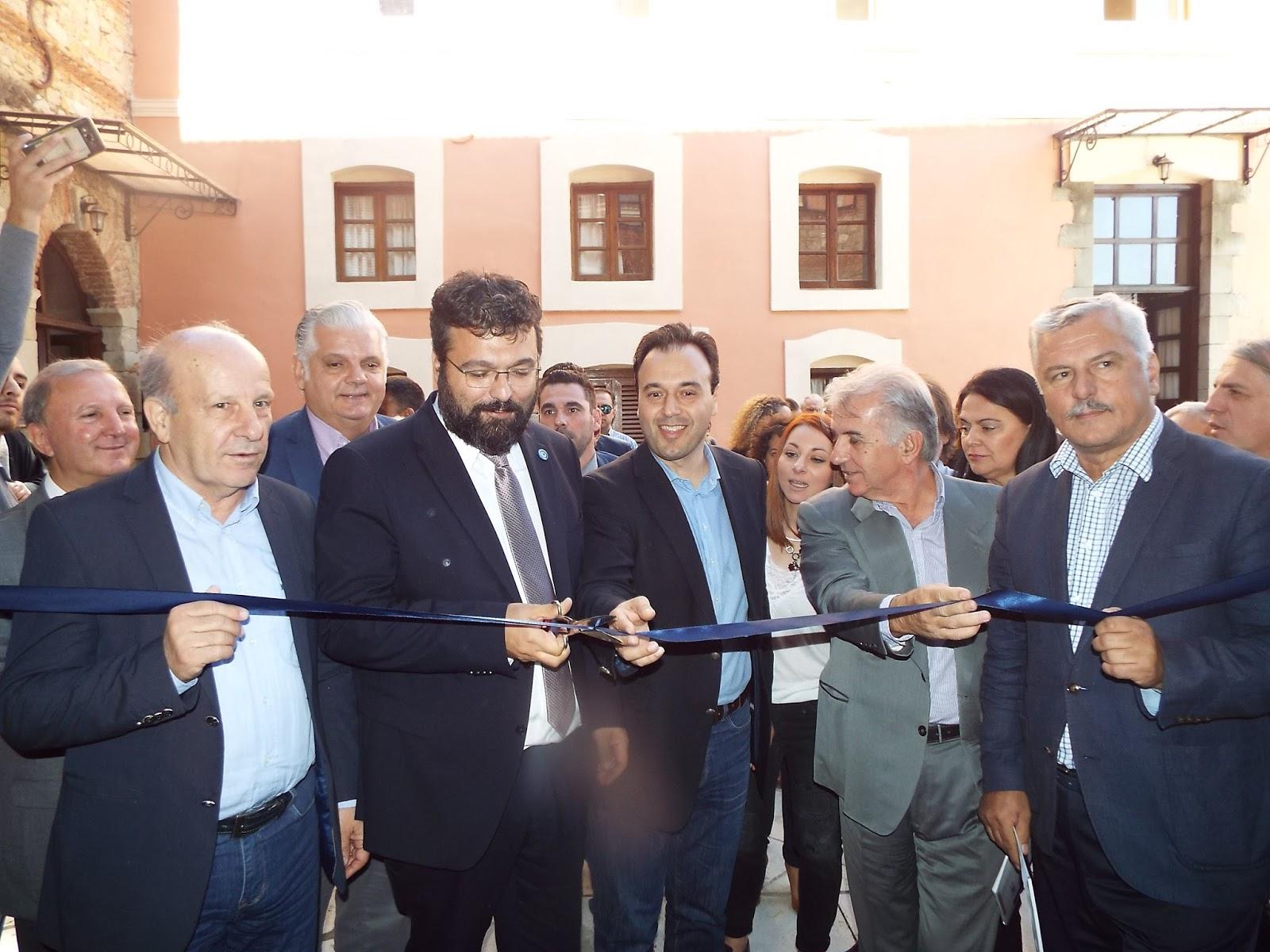 Εγκαινιάστηκε το μοναδικής ιστορικότητας βιομηχανικό Μουσείο Μύλου Ματσόπουλου στα Τρίκαλα (ΦΩΤΟ)