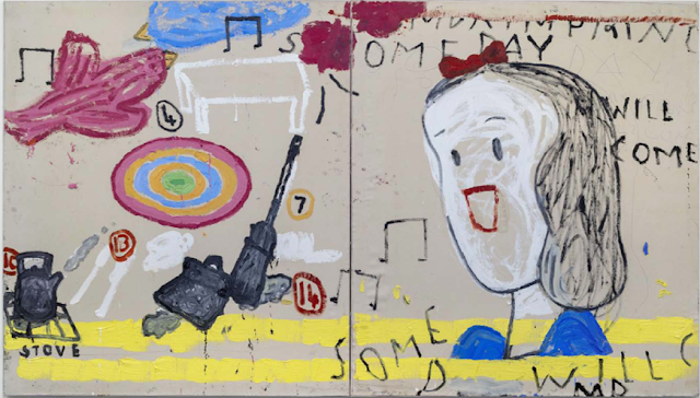 Let it Settle: Art Exhibition of Rose Wylie at The Gallery at Windsor