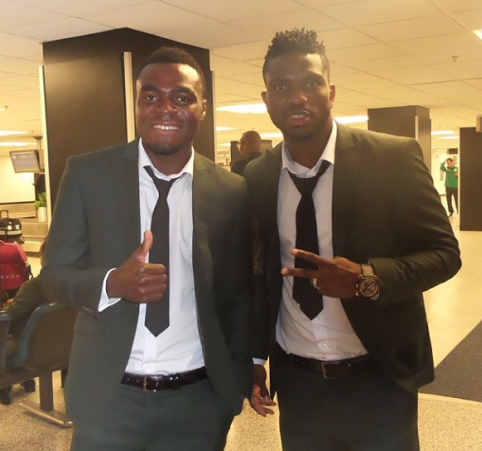 The Eagles have landed. Photos of Super Eagles stars in Brazil
