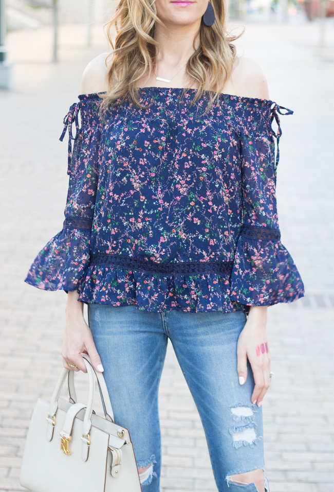 Cold Shoulder Blouse #offtheshoulder #stitchfix