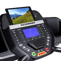 Schwinn 810's Console with 16 programs & syncs with Explore the World App, image