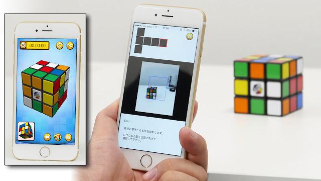 Game kubus rubik di ponsel