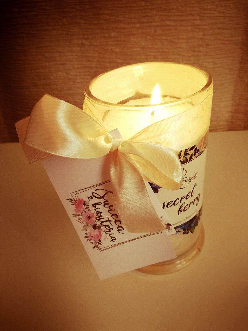 Surprise Candle - świece zapachowe ze srebrną niespodzianką w środku
