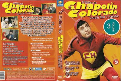 Série O Melhor do Chapolin Colorado Volume 3 DVD Capa