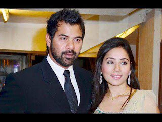Shabbir Ahluwalia And His Wife Kanchi Kaul