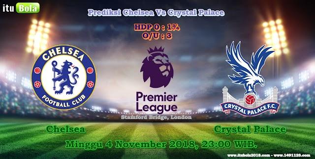 Prediksi Chelsea Vs Crystal Palace  - ituBola