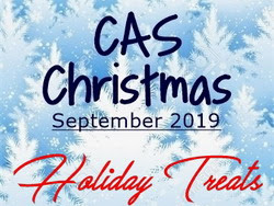 CAS Christmas Card Challenge - Holiday Treats