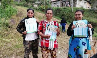 Iriadi Dt Tumanggung Sebar APD di Limau Lunggo Kabupaten Solok