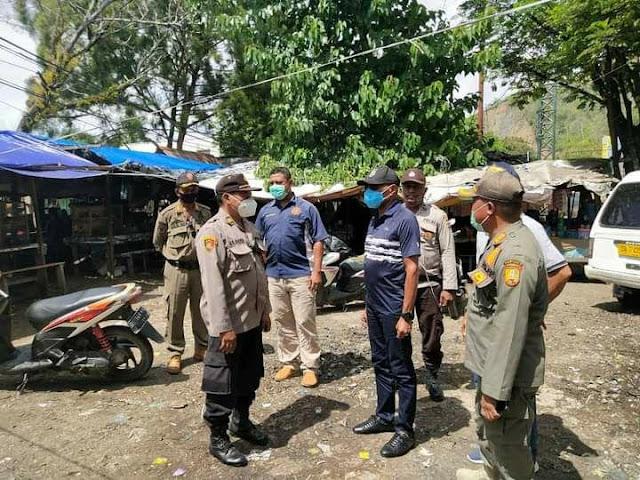Polisi Kawal Pembersihan Eks Terminal Expo Waena