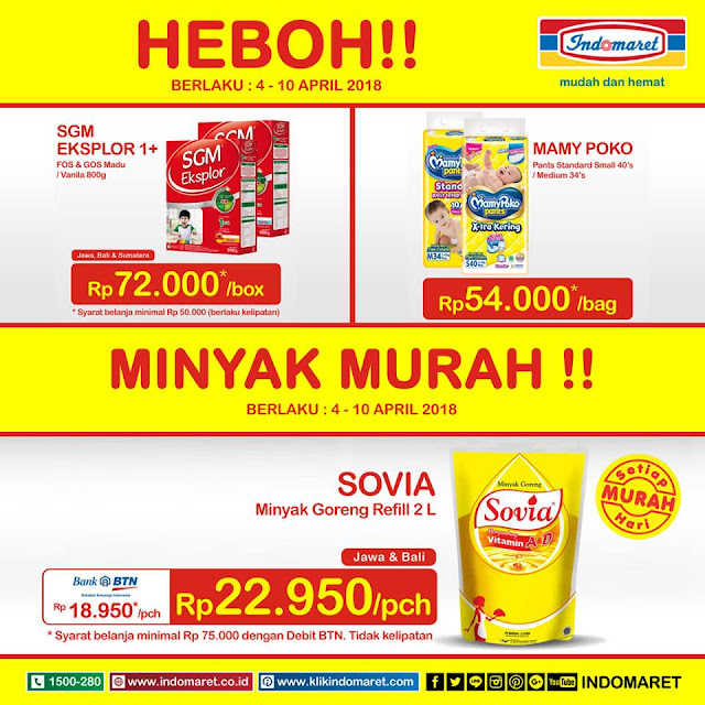 Promo Harga Heboh periode 4 - 10 April 2018