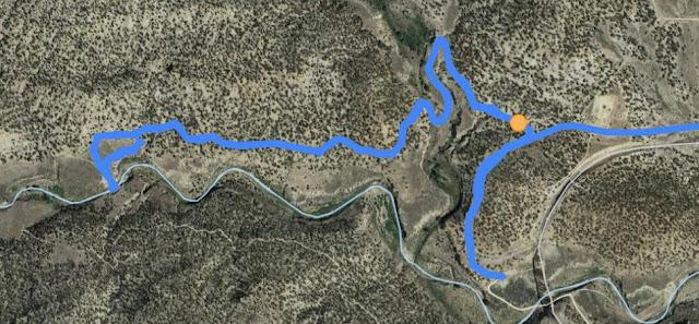 Trail Guide- Gordon Greek Waterfall