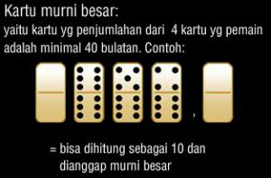 Kartu Domino Jenis Murni Besar  - Rekayasawans