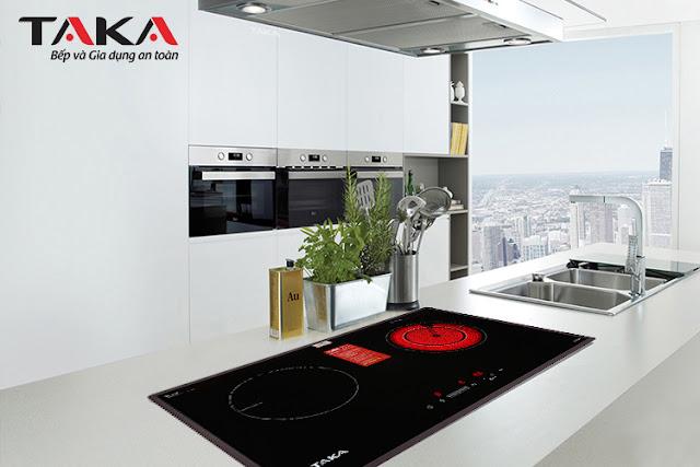 Bếp điện điện từ đôi Taka - TKIR626N