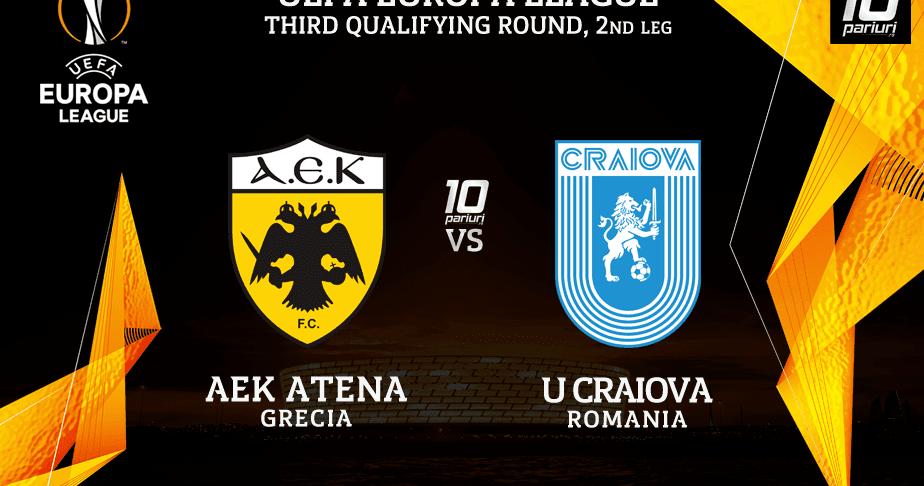 Αποτέλεσμα εικόνας για ΑΕΚ - ΚΡΑΪΟΒΑ Aek vs craiova live streaming