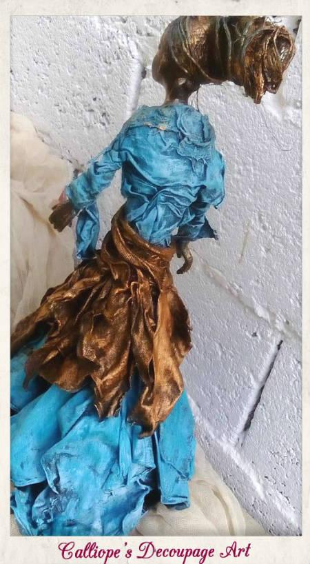 νεες χειροποιητες δημιουργιες Powertex,γυναικειο αγαλματιδιο με Powertex,διακοσμητικο αντικειμενο με Powertex,χειροποιητες δημιουργιες powetex θεσσαλονικη