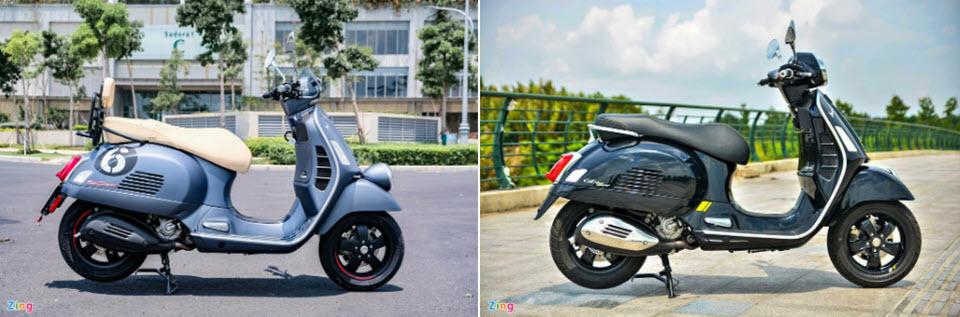 Đắt hơn 50 triệu, Vespa Sei Giorni II có gì hơn GTS Super Tech 300?