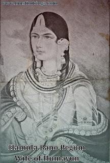 Hamida Bano Begum, Mughal Queen, Wife of Humayun