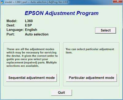 Unduh Resetter Epson L360
