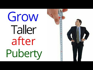 how to become tall after puberty