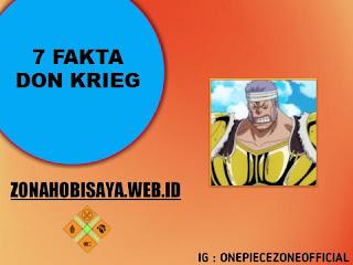 Fakta Don Krieg One Piece