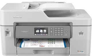 Brother MFC-J6545DW INKvestment Tank Color Inkjet All-in-One Printer Driver, Manual And Setup
