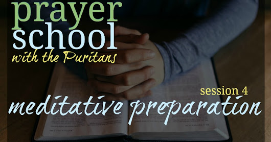 Prayer School session 4 -- {plus free printable!}