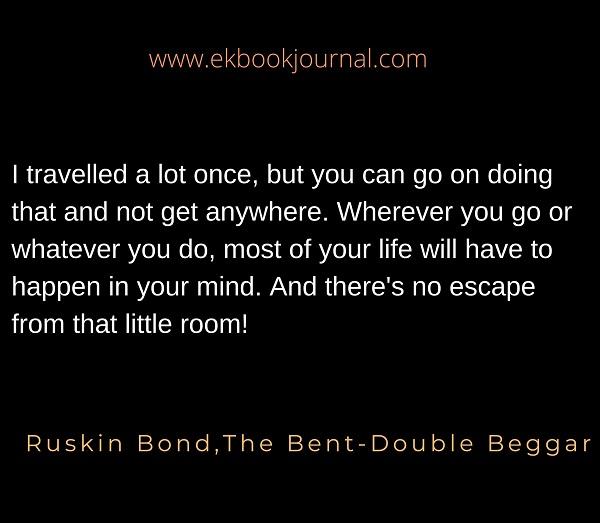 Ruskin Bond Quote