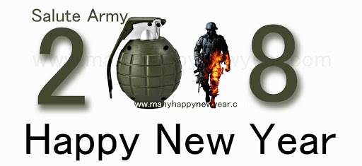 Happy new year 2018 Italy flag army images wishes