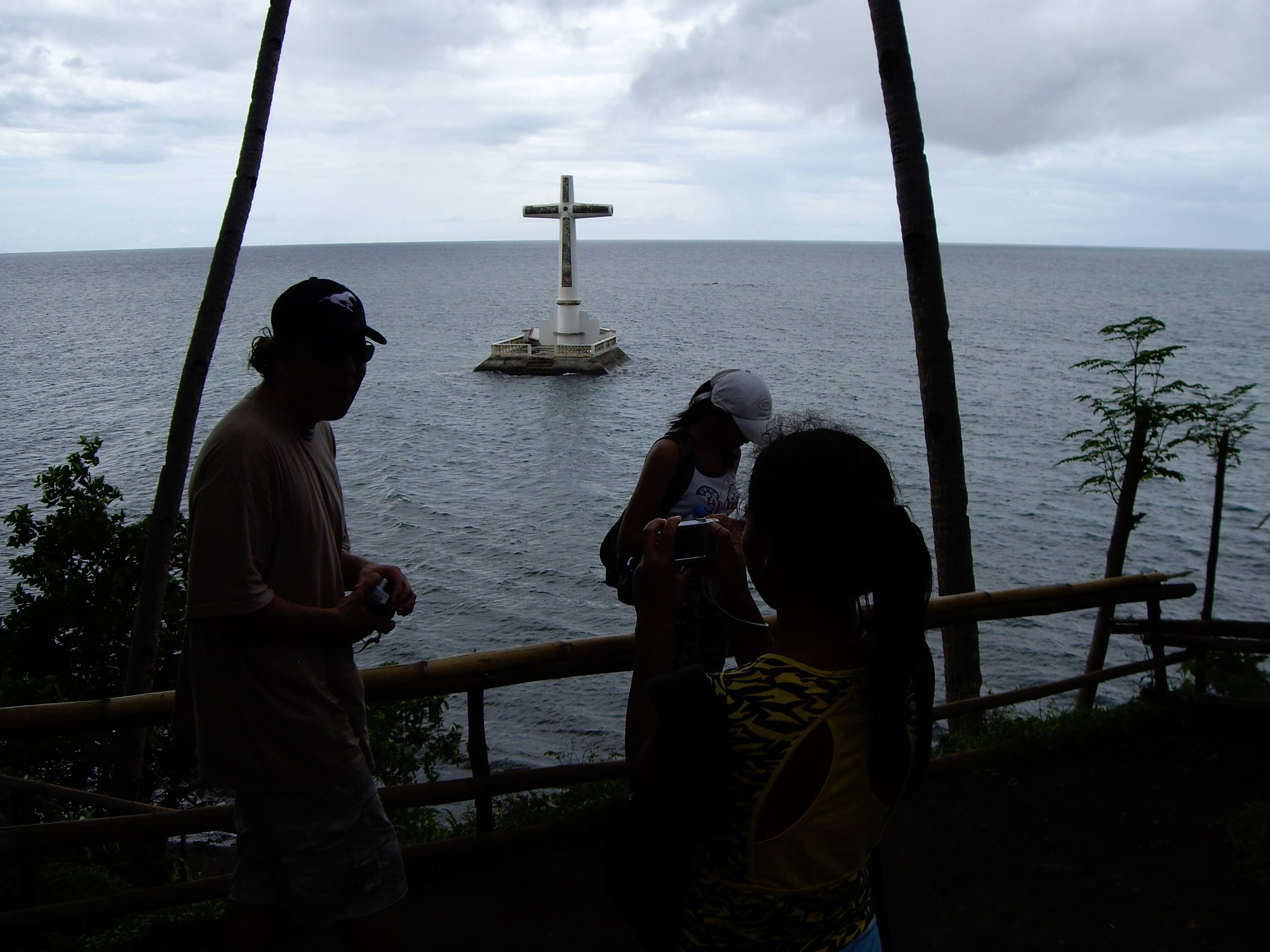 The Sunken Cementry At Camiguin Island.