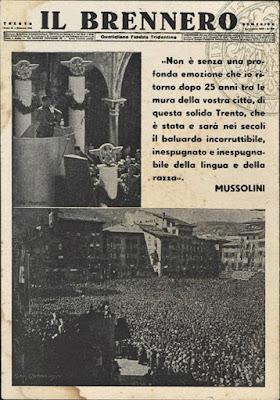 Mussolini a Trento