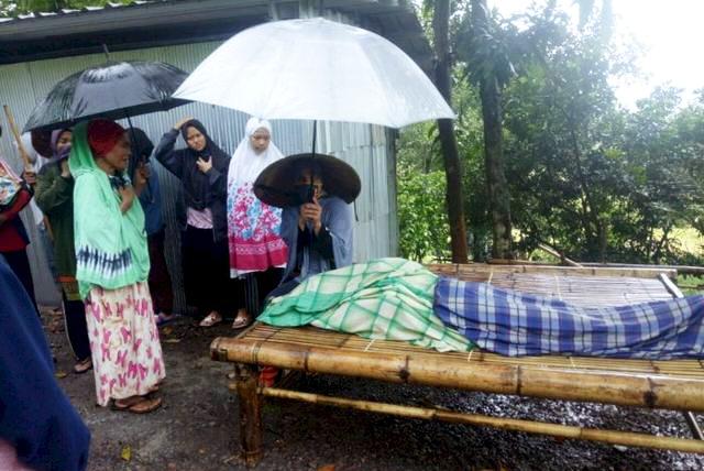 Panen Kacang saat Hujan Deras, Ibu Rumah Tangga Meninggal Dunia Disambar Petir