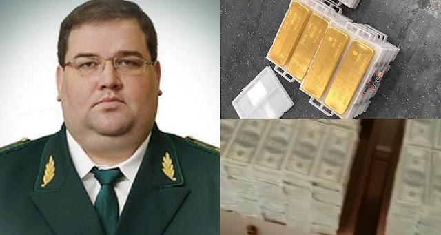 У зaмeстителя начальника таможни под полом дома нашли, вниманиe: 100 млн долларов и 18 тонн золота…