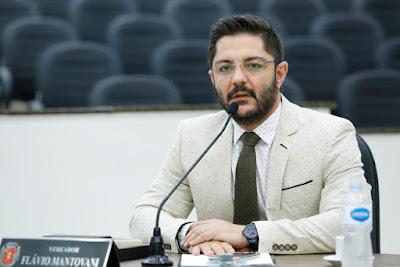 Projeto de lei é de autoria do vereador Flávio Mantovani. Café com Jornalista