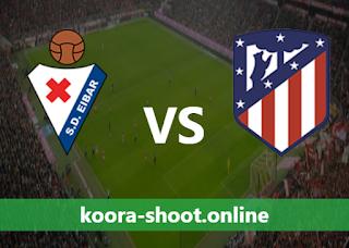 بث مباشر مباراة اتليتكو مدريد وايبار اليوم بتاريخ 18/04/2021 الدوري الاسباني