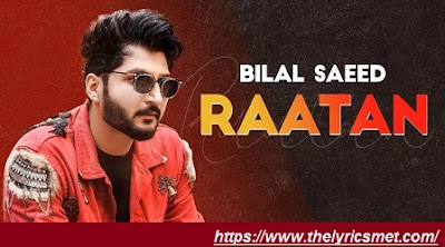 Rattan Song Lyrics | Bilal Saeed | Latest Punjabi Songs 2020 | Speed Records