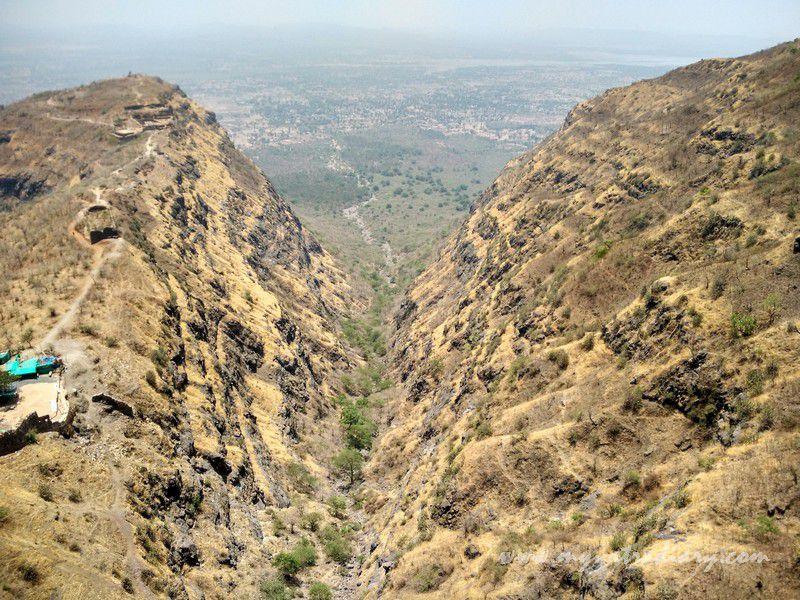 Beautiful views at the Mahakalika Temple, Pavagad, Champaner Gujarat