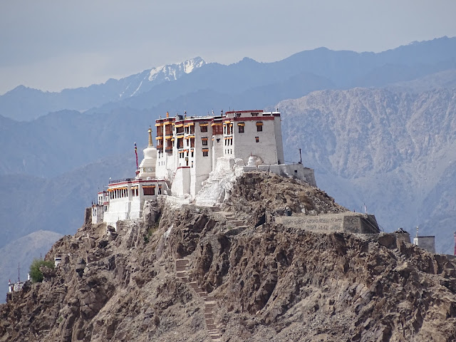 Buddhist Monastery in Ladakh