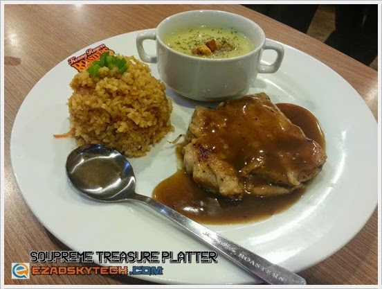 Kenny's Cherish Meal - Soupreme Treasure Platter