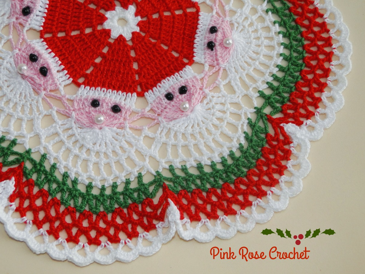 Santa face pattern free here santa face pattern bankloansurffo Image collections