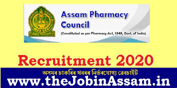 Assam Pharmacy Council Recruitment 2020: Apply for Registrar Post